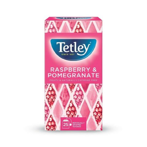 Tetley Herbal Tea - Raspberry & Pomegranate